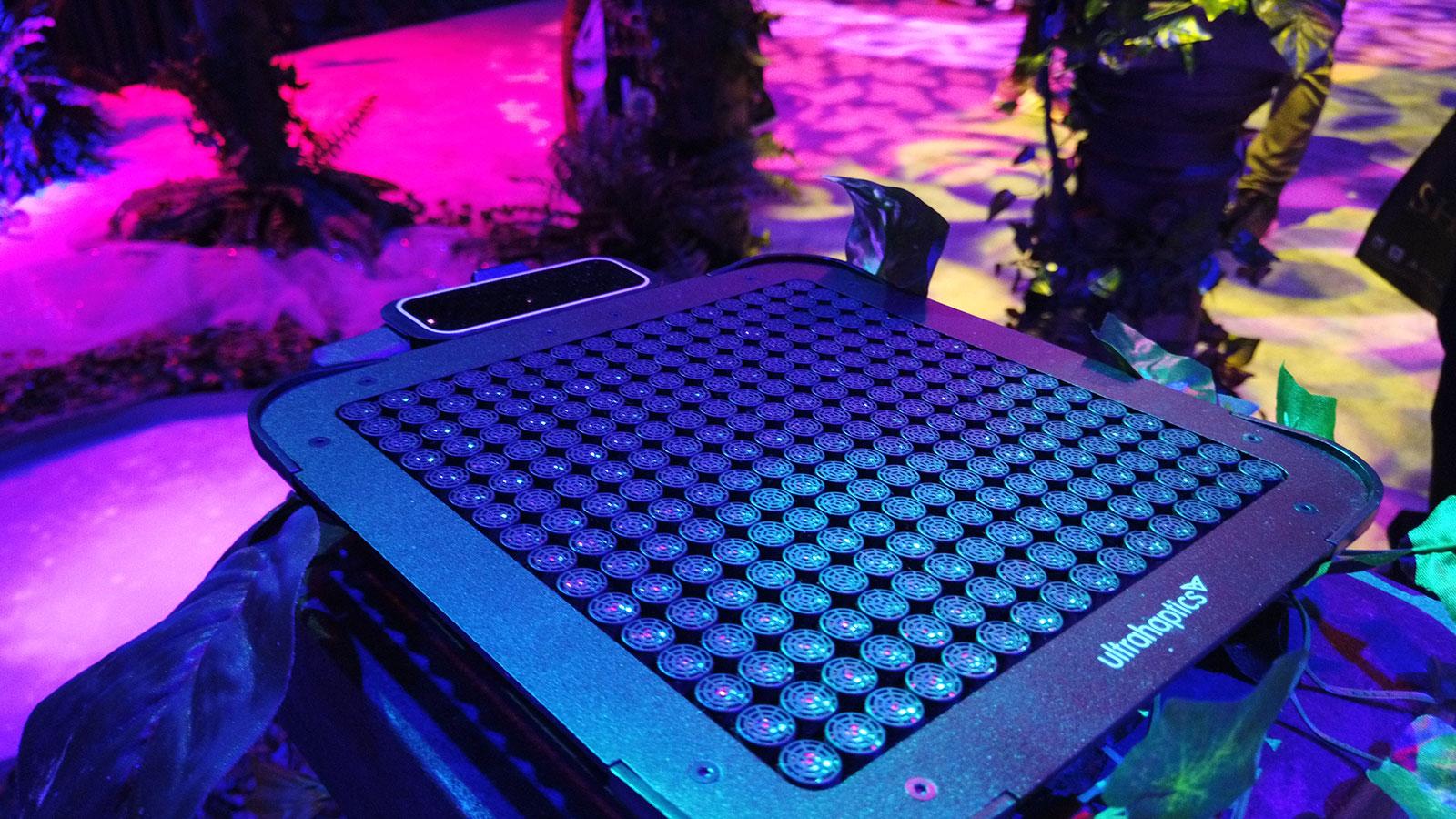 Ultraleap's haptic technology dev kit