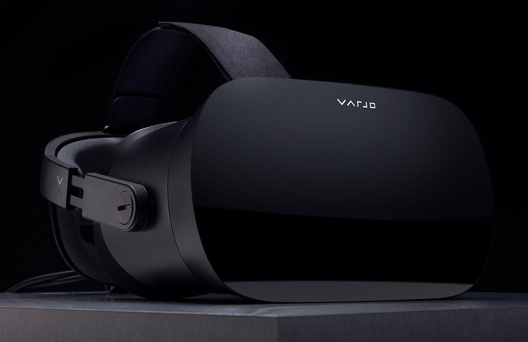 Varjo VR-2 Pro headset with Ultraleap hand tracking technology