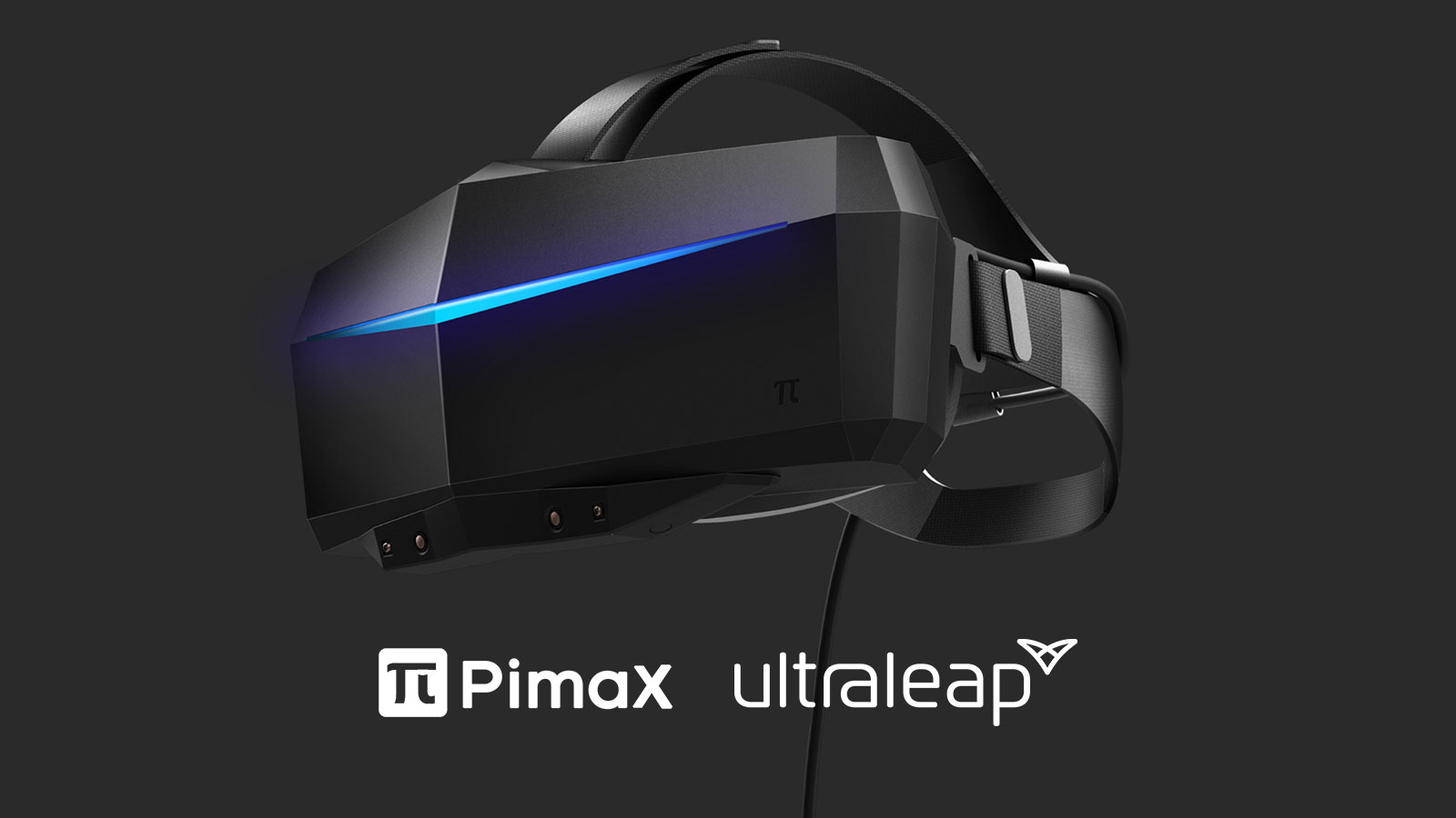 Pimax headset ultraleap hand tracking