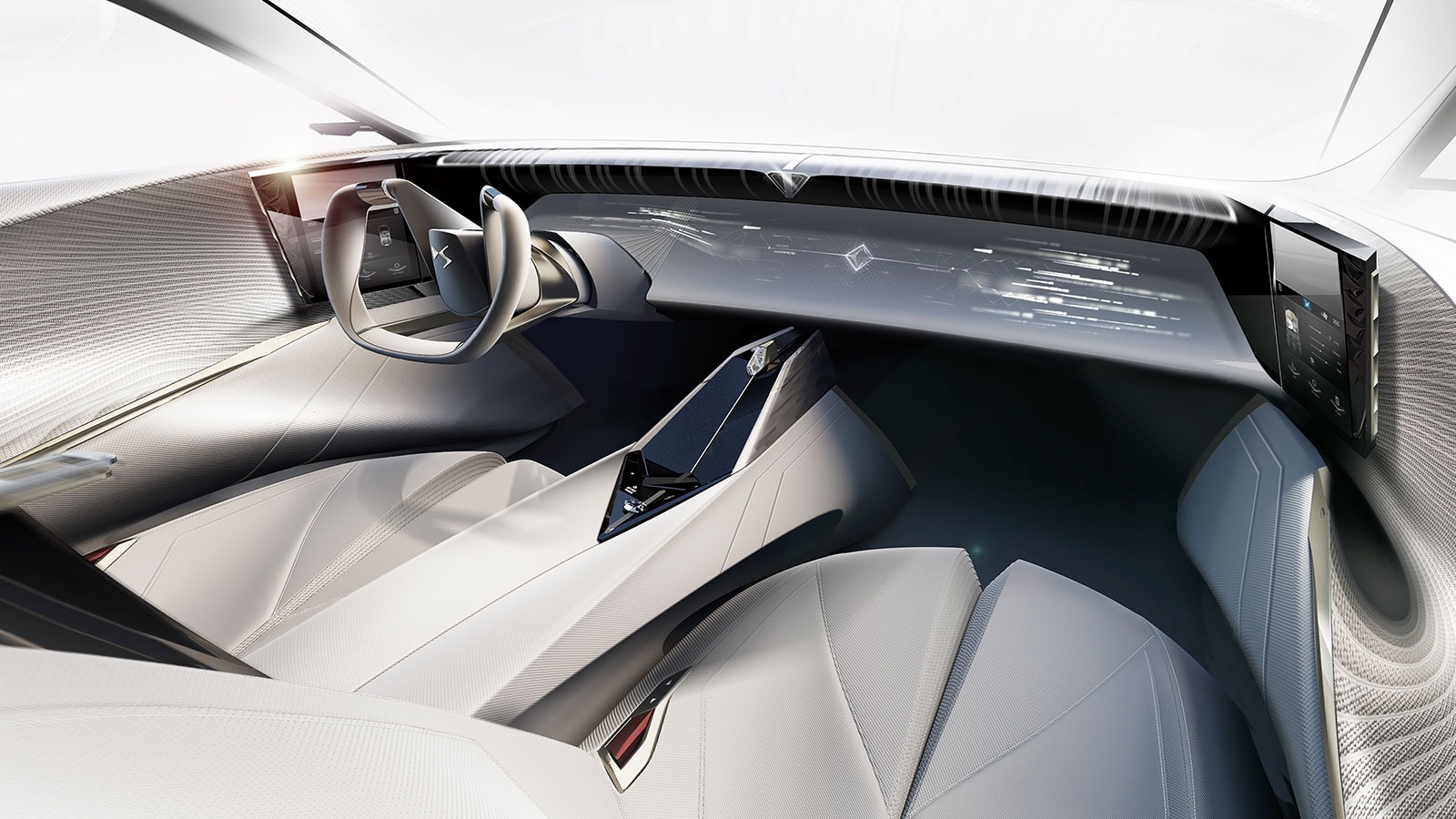 Ultraleap haptic technology added to DS Automobiles car interior ui