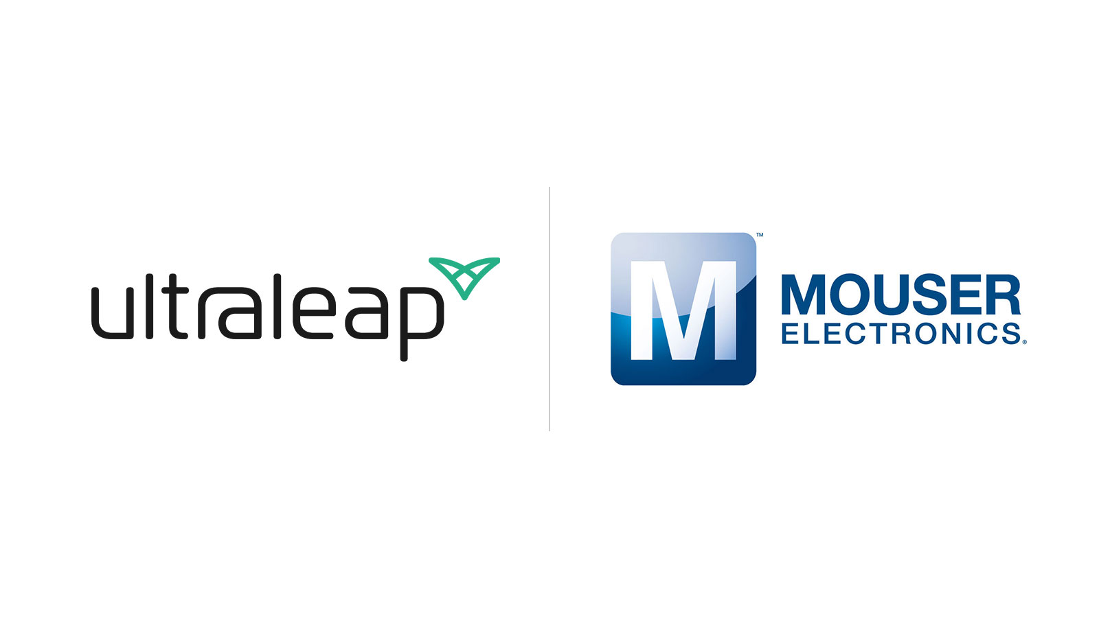 Ultraleap and Mouser logos