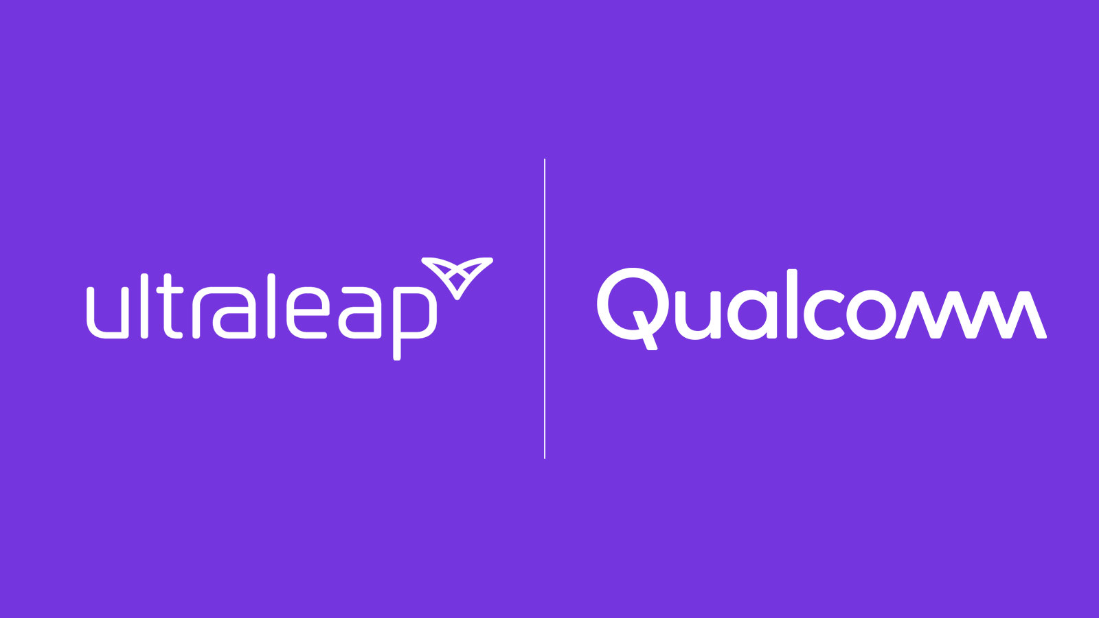 Ultraleap and Qualcomm logos