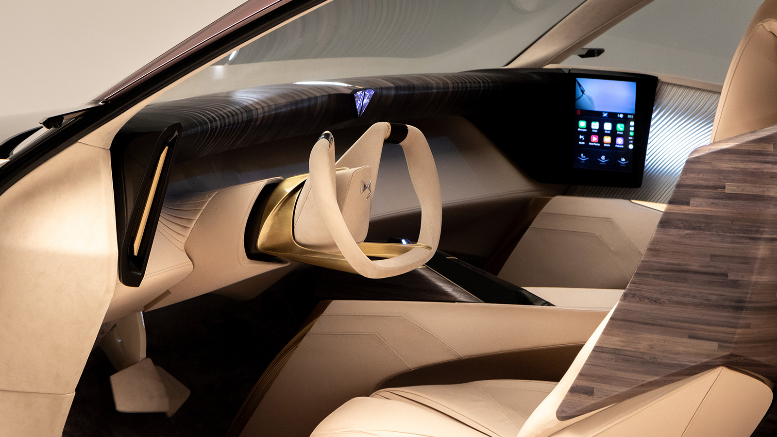 DS Automobiles gesture control inside future car
