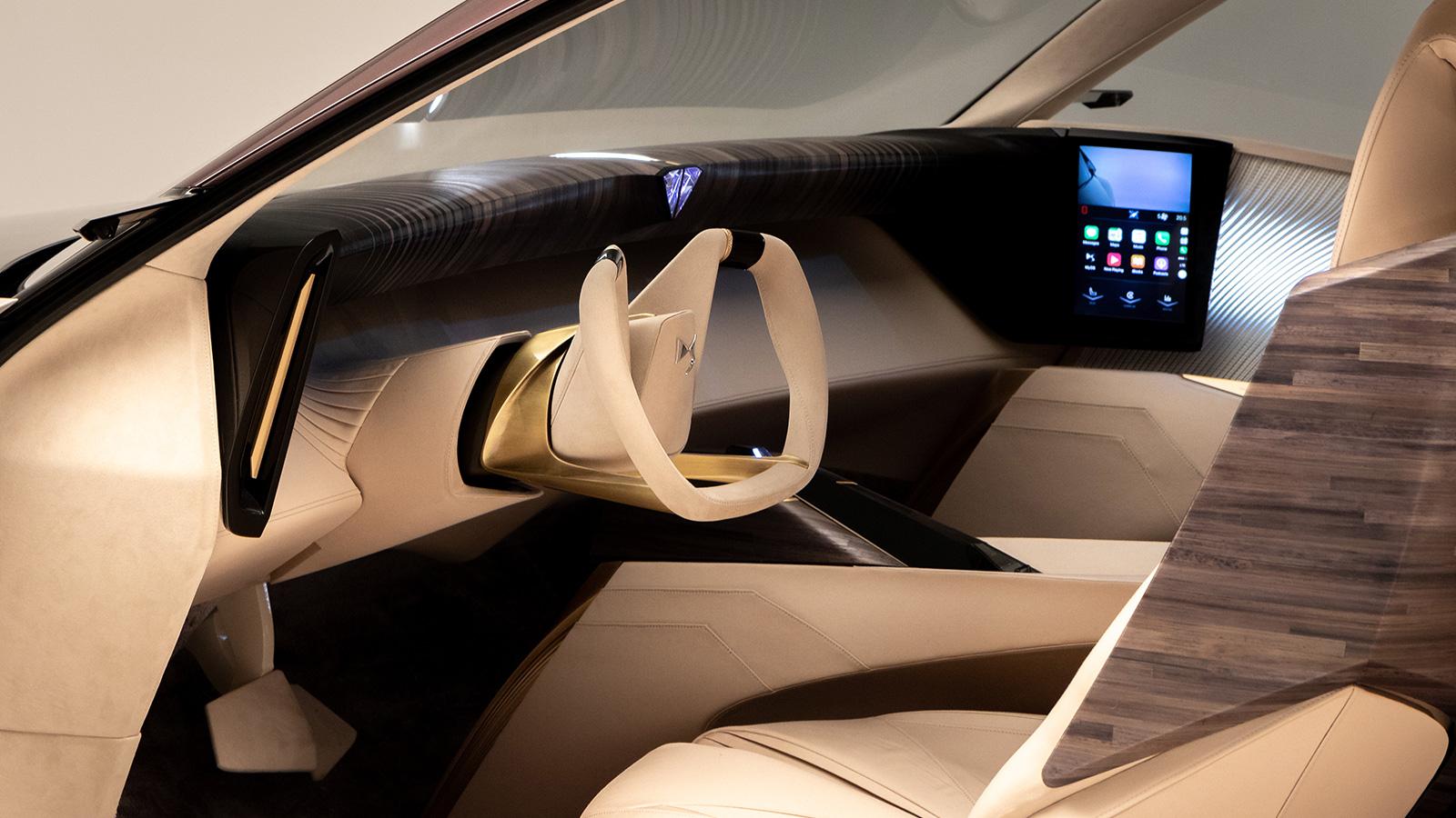 DS Automobiles gesture control inside future car