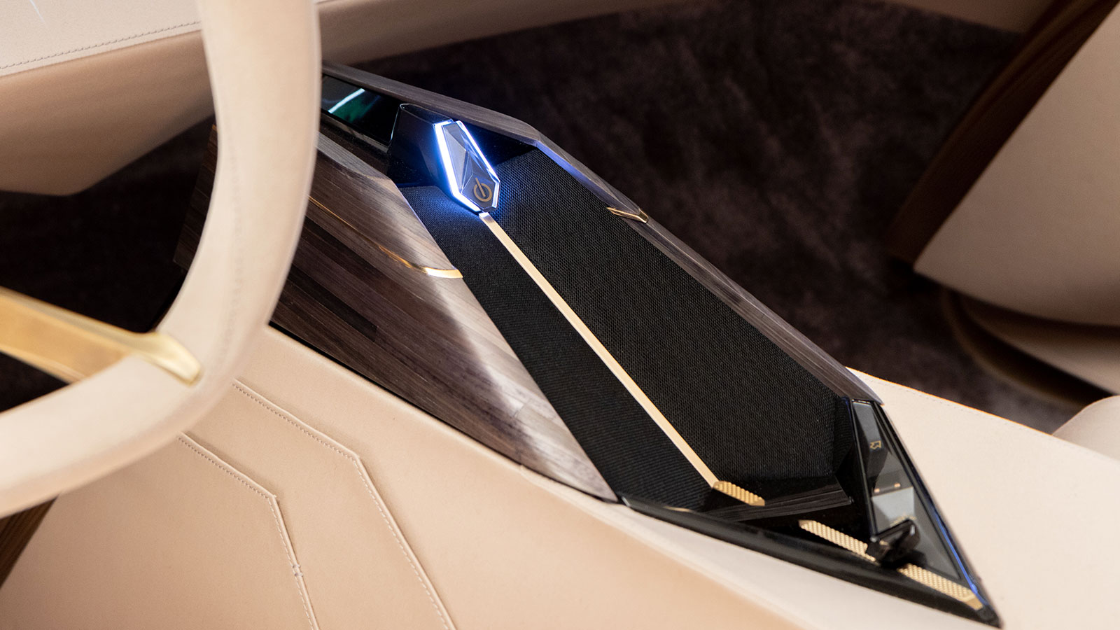Gesture control by Ultraleap inside luxury DS Automobile concept car