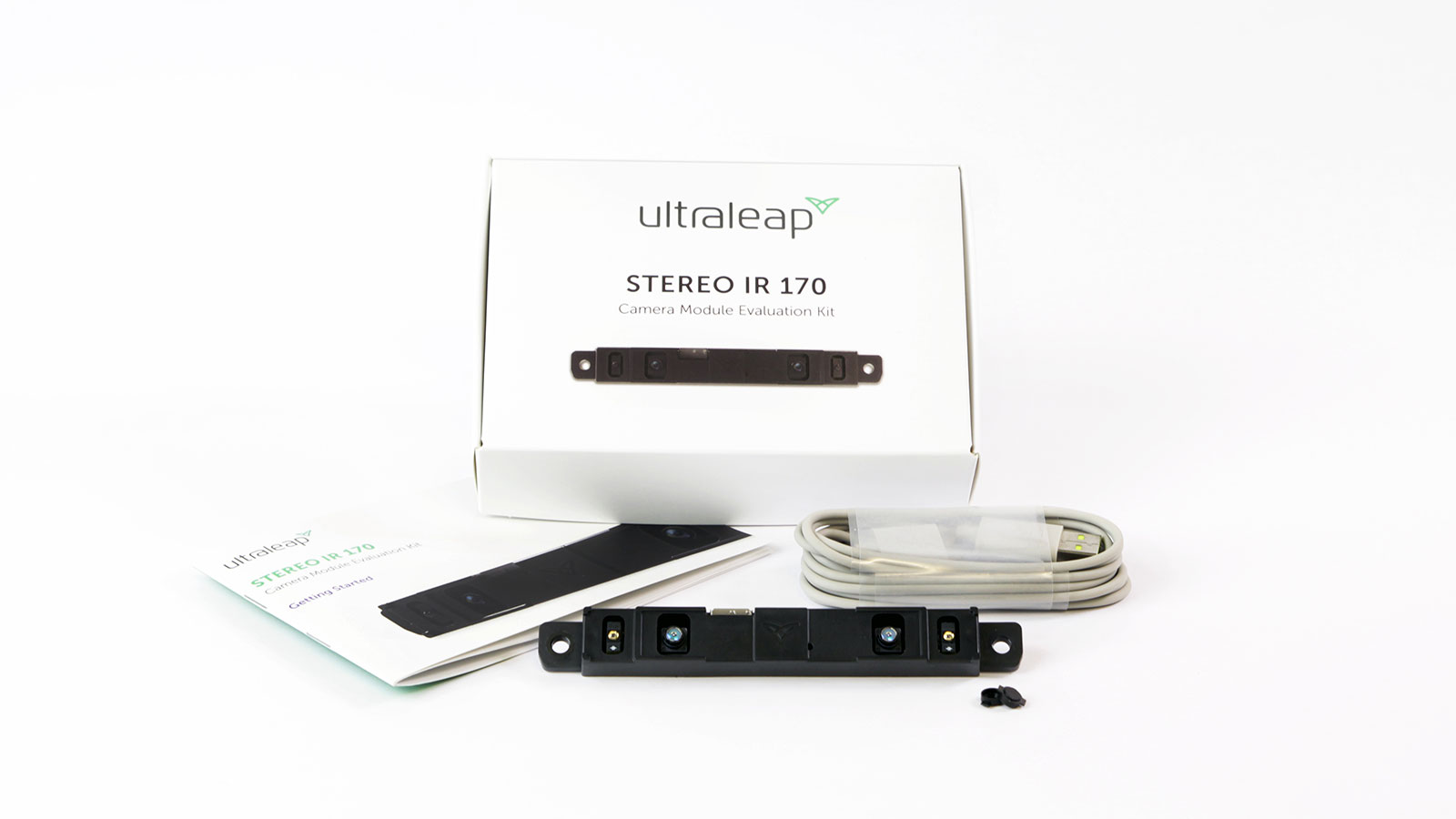 Ultraleap Stereo IR 170 evaluation kit hand tracking