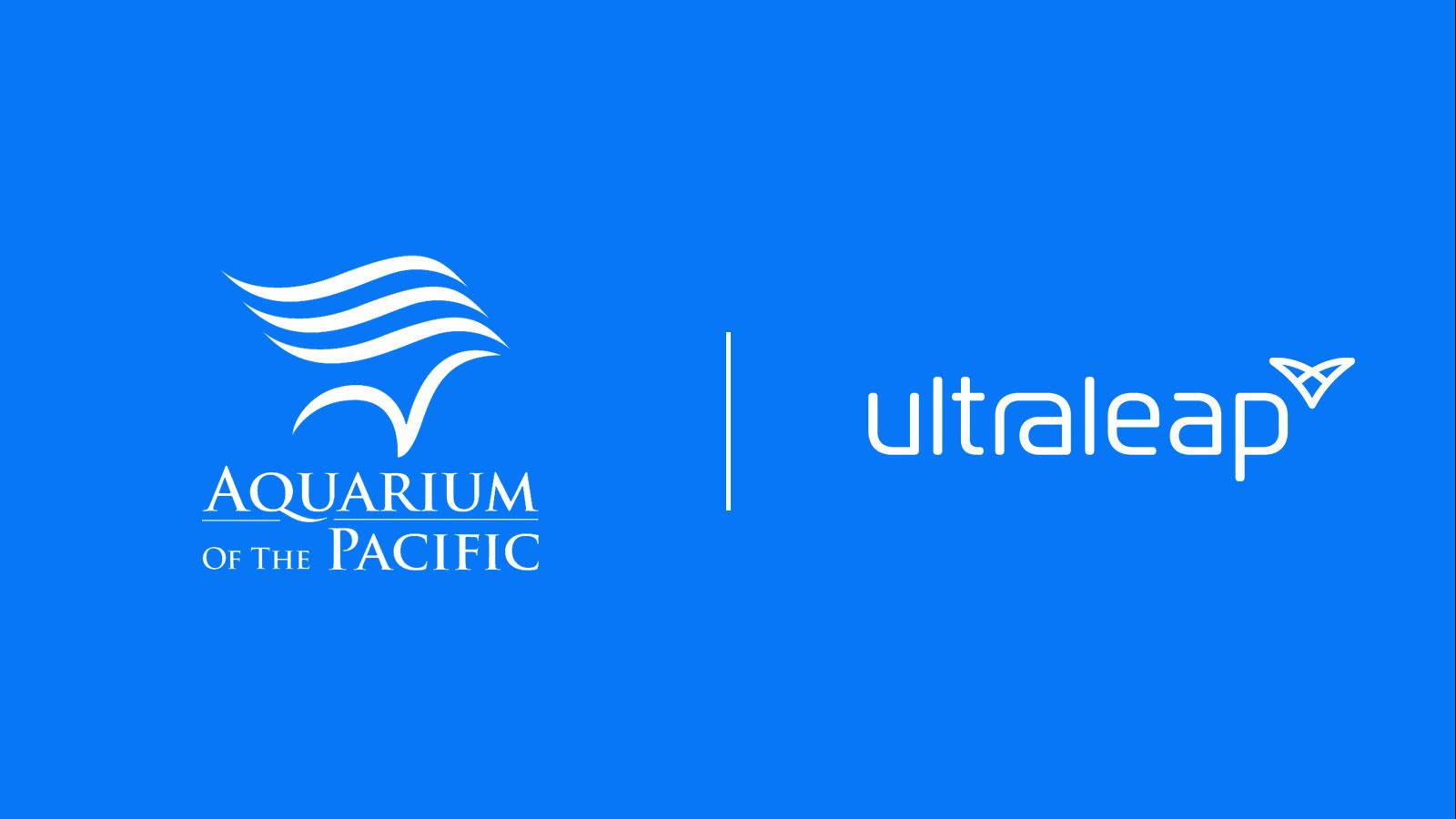 Aquarium-of-the-pacific-ultraleap-logos