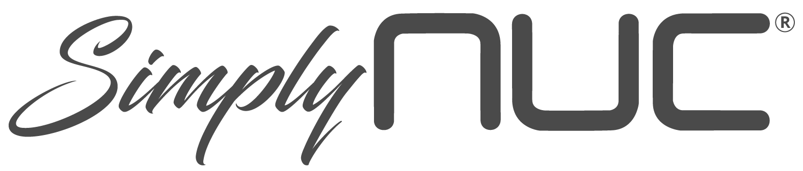 Simply NUC grey logo