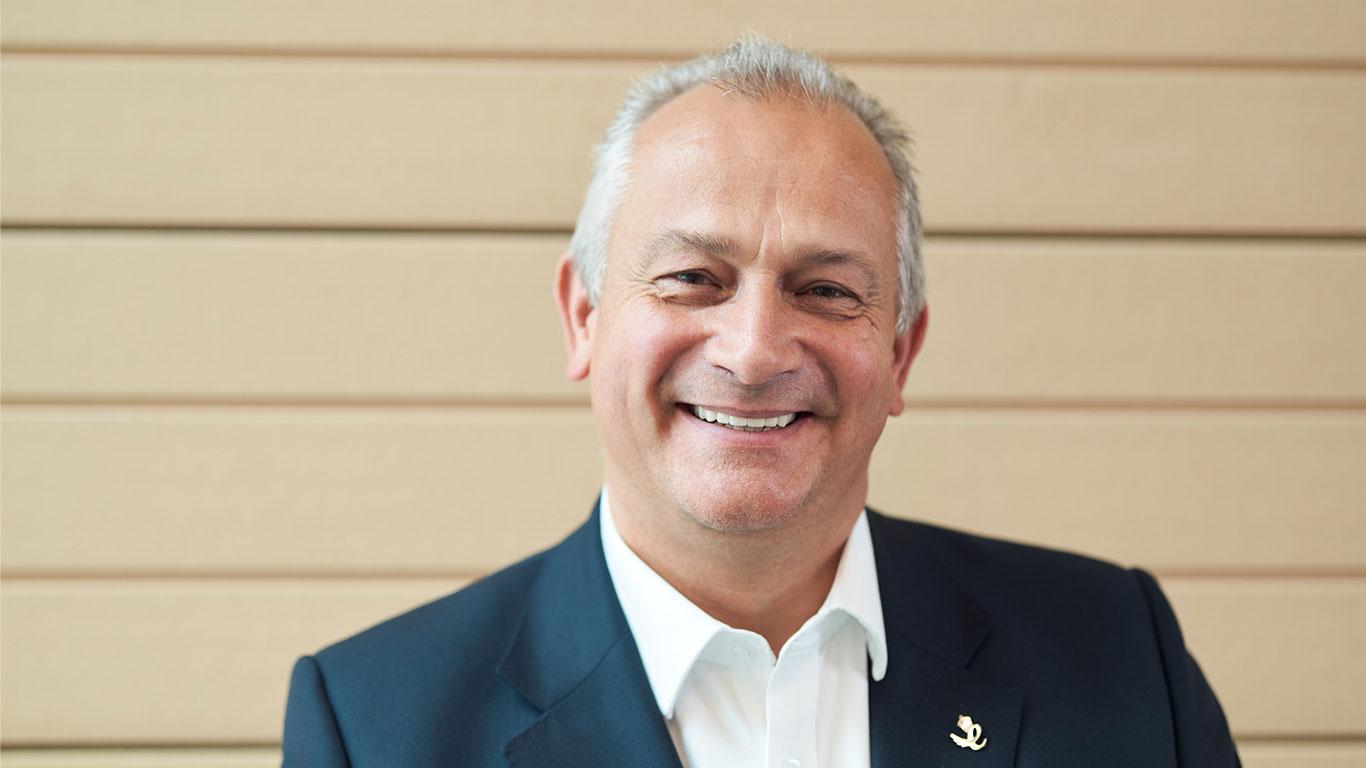 Steve Cliffe, CEO of Ultraleap